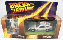 Back to the Future - Corgi - Delorean Time Machine Part.1 w/Doc Brown
