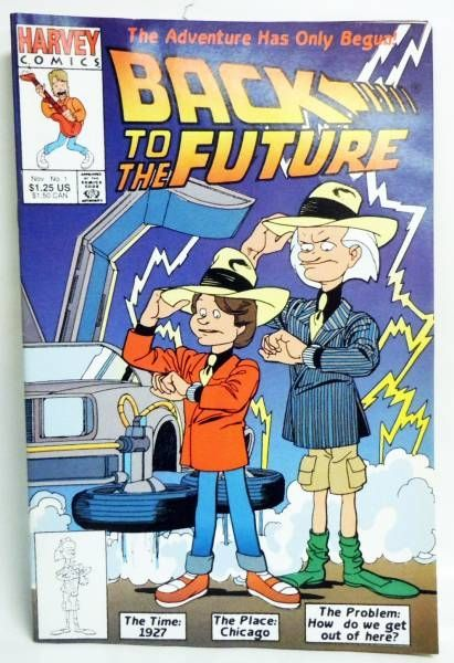 Back to the Future - Harvey Comics - Back to the Future #1 The Adventure Has Only Begun!