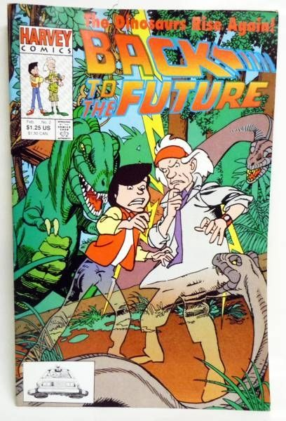 Back to the Future - Harvey Comics - Back to the Future #2 The Dinosaurs Rise Again!