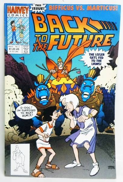 Back to the Future - Harvey Comics - Back to the Future #3 Bifficus vs. Marticus!