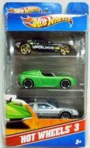 Back to the Future - Hot Wheels 3 - Mattel - Delorean Time Machine (Part 1), Camaro Concept & C6 Corvette Police