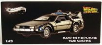 Back to the Future - Hot Wheels Elite - Delorean 1:43 scale (part 1)