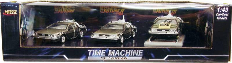 Back to the Future - Vitesse - Delorean 1:43 scale (all parts)