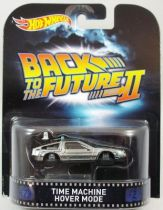 Retour vers le Futur Part.II - Hot Wheels - Mattel - Delorean Time Machine Hover Mode