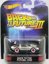 Retour vers le Futur Part.III - Hot Wheels - Mattel - Delorean Time Machine 1955