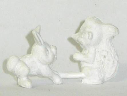 Bambi, Rabbit and Skunk, La Roche aux Fées monocolor premium figures