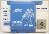 Bandai Electronics - Handheld Game Triple Vision - Space Centurion GUNDAM