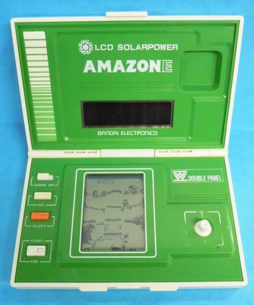 Bandai Electronics Lcd Solarpower Game Amazone