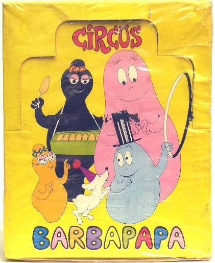 Barbapapa - Barbapapa Stickers Display