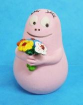 Barbapapa - Plastoy PVC Figure - Barbapapa with bouquet