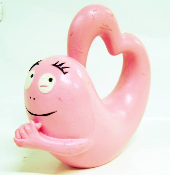 Barbapapa - Plastoy PVC Figure - Heart-shaped Barbapapa