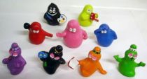 Barbapapa - Set of 9 Pvc Fabianplastica