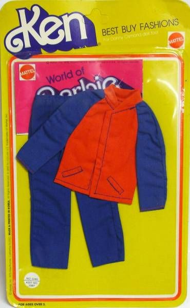 Barbie - Fashion Collectible for Ken - Mattel 1975 (ref.2240)