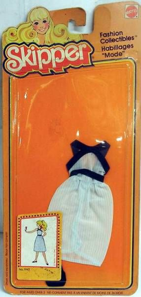 Barbie - Fashion Collectible for Skipper - Mattel 1980 (ref.1942)
