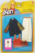 Barbie - Habillages Pr�f�r�s de Ken - Mattel 1980 (ref.1406)