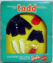 Barbie - Fashions for Todd - Mattel 1973 (ref.7986)