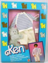 Barbie - Habillage Promenade Ken - Mattel 1986 (ref.3663)