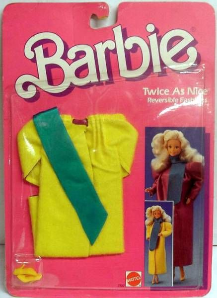 Barbie - Twice as Nice Reversible Fashion Barbie - Mattel 1985 (ref.2302)