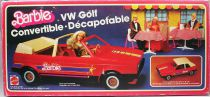 Barbie - VW Golf Convertible Cabriolet - Mattel 1981 (ref.8298)
