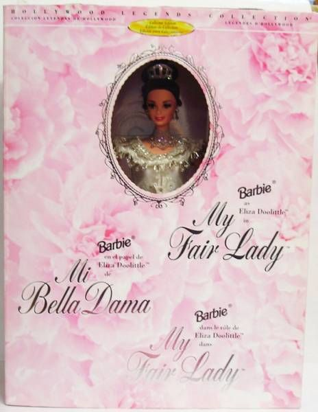 Barbie as Eliza Doolittle (Embassy Ball) in My Fair Lady - Mattel 1996 (ref.15500)