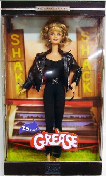 Barbie as Grease\'s Sandy Olson (Olivia Newton-John) - Mattel 2003 (ref.B2510)