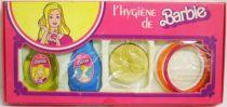 Barbie Beauty Set - \'\'Barbie hygiene\'\' - Mattel 1977 (ref.10/504)