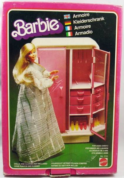 Barbie\'s Armoire - Mattel 1978 (ref.2153)