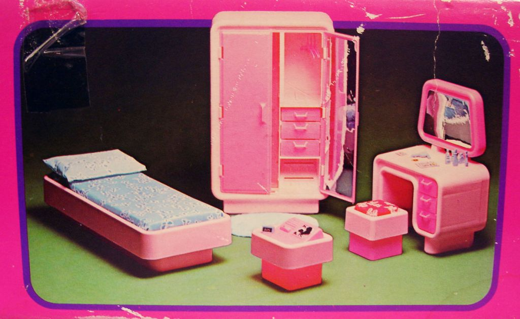 Barbie Bedroom In A Box: Mattel 1978 (ref.2150