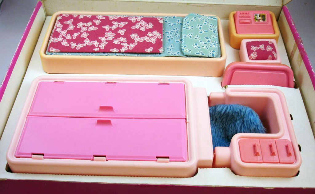 Chambre à coucher de Barbie - Mattel 1978 ref.2150 (3)