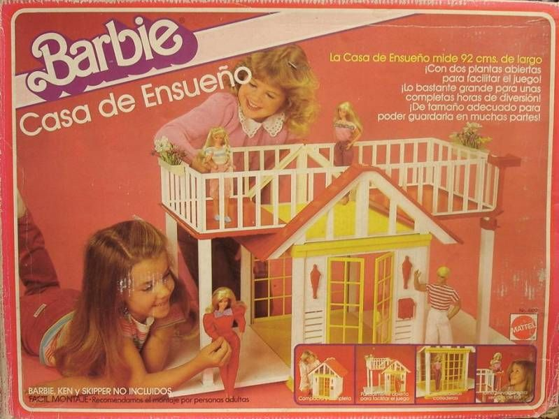 La maison de r ve de barbie mattel 1985 for Barbie vie dans la maison de reve