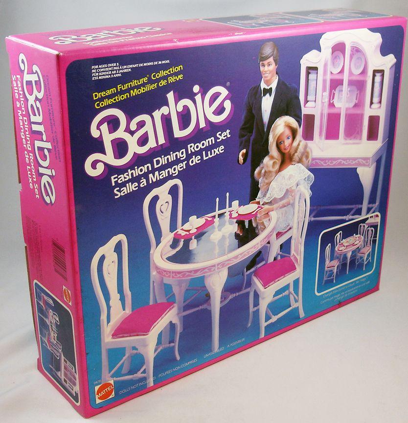Barbie Dining Room Set: Barbie's Fashion Dining Room Set