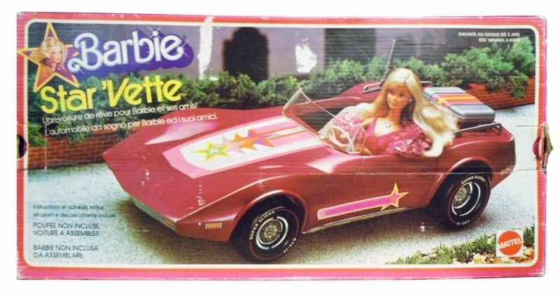 Barbie\'s Star\'Vette - Mattel 1976 (ref.9831)