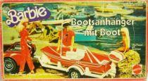 Barbie\\\'s Trailer with boat - Mattel 1979 (ref.3631)