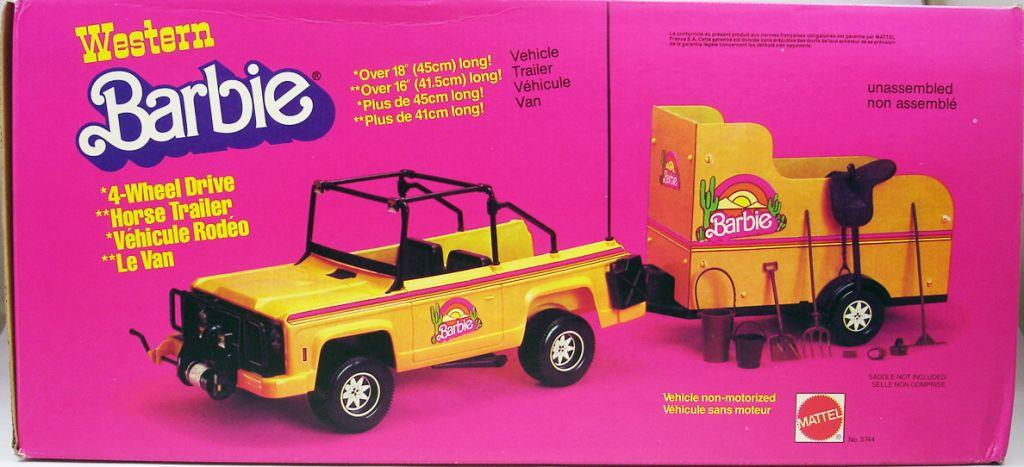 barbie_western___le_vehicule_rodeo_4x4_et_le_van_pour_cheval___mattel_1980_ref.3744__1_