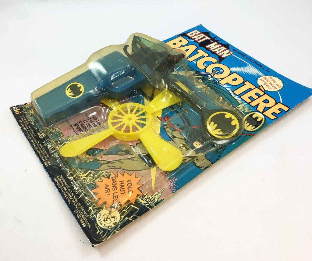 Batman - A.H.I. (Pin Pin Toys) - Batcopter (Mint on Card)