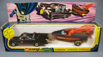 Batman - Corgi Gift Set n°3 (1977) - Batmobile & Batboat 1:36 Scale (boxed set)