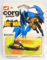 Batman - Corgi Junior Ref.78 - Batcopter (mint on card)