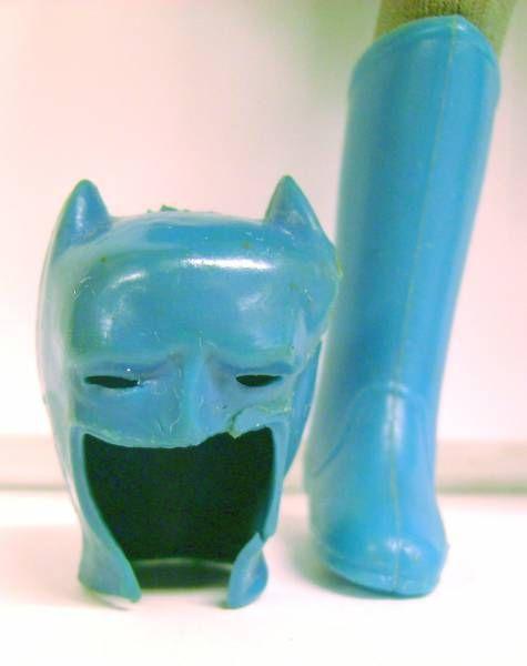 Batman - Mego World\\\'s Greatest Super-Heroes - Bruce Wayne Batman with removable mask (loose)