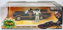 Batman (Classic TV Series) - Jada - Batmobile metal 1:24ème avec figurines Batman & Robin