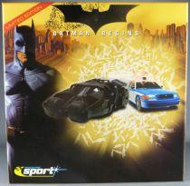 Batman Begins - Batmobile & Gothan City Police Car - Scalextric C2669a Limited Edition Mint in Box