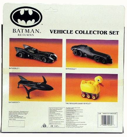 Batman Returns - Vehicle Collector set - ERTL