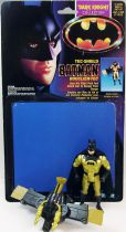 Batman The Dark Knight Collection - Kenner - Tec-Shield Batman (loose with cardback)