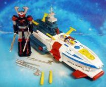 Battle Fever & Battle Shark ST - Robot & Diecast  Vehicle - Popy (loose)