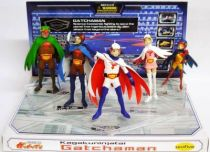 Battle of the Planets (Gachaman) - G Force - set of 5 PVC figure (loose) - Unifive