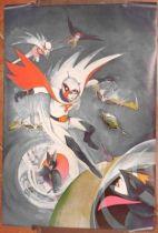 Battle of the Planets poster - Verkerke Editions 1979