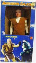 Battlestar Galactica  - 12\\\'\\\' Mattel figure - Colonial Warrior (loose with box)
