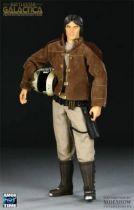 Battlestar Galactica - Figurine 30cm Sideshow / Majestic Studios - Captain Apollo