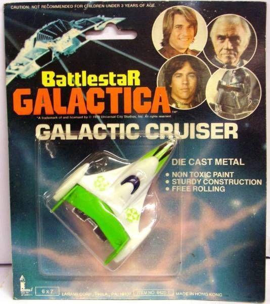 Battlestar Galactica - Larami - Galactic Cruiser (green)