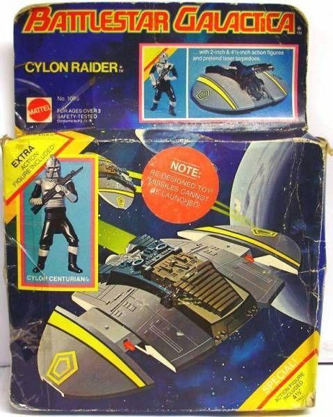 Battlestar Galactica - Mattel - Cylon Raider