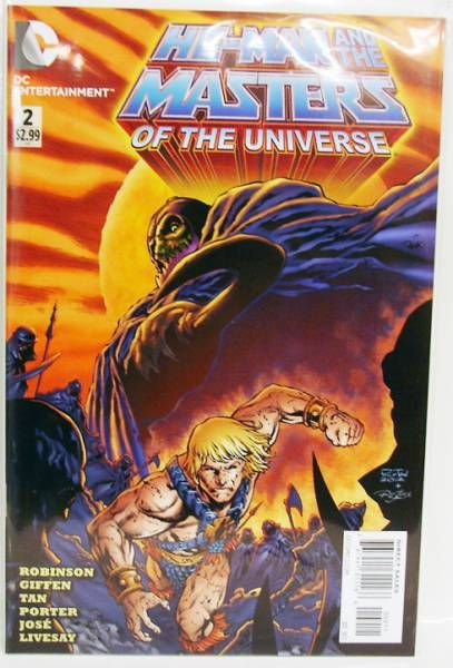 BD - DC Entertainment - Masters of the Universe #2 (2012 series)